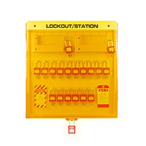 BOZZYS/博士 组合式高级锁具工作站 BD-B201 不含任何锁具产品 可容纳挂锁数量20 1个