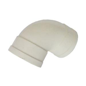 LVJIE/绿洁 PVC弯头(90°) 50mm DE50 白色 1个