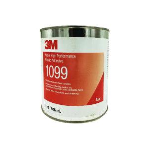 3M 塑料胶粘剂 1099 1qt 1罐