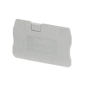 PHOENIX CONTACT/菲尼克斯 D-ST系列端板 D-ST 2,5 1个
