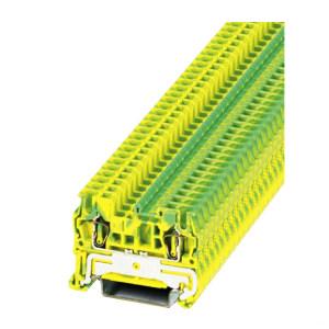 PHOENIX CONTACT/菲尼克斯 ST系列弹簧接地端子 ST 2,5-PE 1个