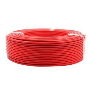 QIFAN/起帆 铜芯聚氯乙烯绝缘C级阻燃连接软电线 ZC-RV-450/750V-1×120 红色 1米
