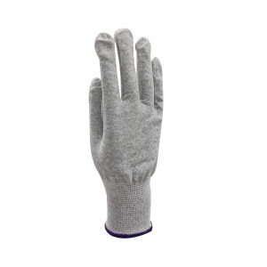 GC/国产 碳纤维防静电手套 E001 9码  紫色手腕边 不分左右手 1副