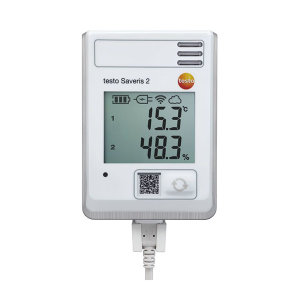 TESTO/德图 无线数据记录仪 testo Saveris 2-H1 带显示 内置温湿度探头 1台