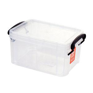 CITYLONG/禧天龙 收纳盒 X-6642 234×160×123mm 容积2.6L 透明 1个