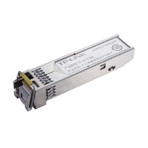 TP-LINK/普联 光纤收发器 TL-SM321A 千兆单模单纤SFP光收发模块  100×50×30mm 重量0.2kg 1台