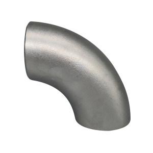RG/锐阁 TP304不锈钢对焊90°冲压弯头 φ57×3.5 GB/T12459标准 1只