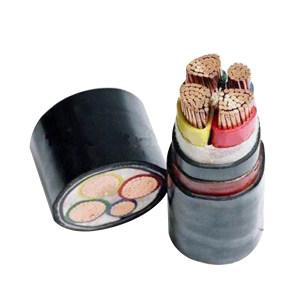 JINCHENG/津成 铜芯交联聚乙烯绝缘钢带铠装聚氯乙烯护套电力电缆 YJV22-0.6/1kV-3×35+2×16 护套黑色 1米