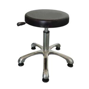 ZKH/震坤行 防静电PU发泡防静电圆凳 XY-2750C 可调高度范围:约450mm-600mm(配黑色脚杯) 高度误差±5cm 1个