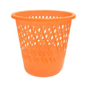 ZIREN/滋仁 塑料网格垃圾桶 LT-058 φ280×280mm 混色随机 1个