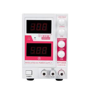 FERTILE/泽丰盛 经济型直流稳定电源 NY1305A 0-30V/5A LED显示 稳压 稳流 全保护 风扇散热 1台