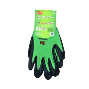 3M 舒适型防滑耐磨手套 WX300923983 XL 绿色 1副