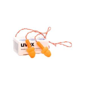 UVEX/优维斯 whisper可重复使用耳塞 2111201 SNR:23dB 带线 50副 1盒