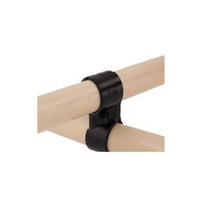 ZKH/震坤行 黑色接头 HJ-6P 金属材质 适用于两根柔性管组合成三维90°结构 1套