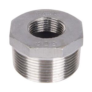 RG/锐阁 304不锈钢补芯 DN20×DN15 BSPT(ZG)螺纹 1只