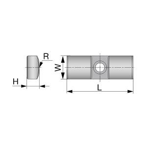 TUNGALOY/泰珂洛东芝 导向垫(配件) GP05-075 F2122 厚2.5mm 1盒