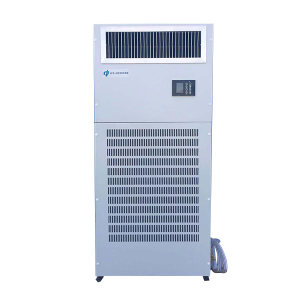 ICE-HERO/冰雄 风冷柜机 DFG-8D 室内机750×430×1660mm 室外机990×350×840mm 连接管5m 电压三相380V/50Hz 制冷剂R22 制冷量8000W 温度控制20~35℃ 1台