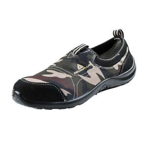 DELTA/代尔塔 MIAMI松紧系列低帮帆布安全鞋 301217 35码 迷彩 防砸防静电防刺穿 1双