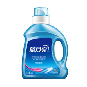 LYL/蓝月亮 薰衣草亮白增艳洗衣液 6902022137211 1kg 1瓶