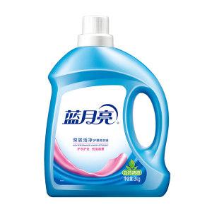 LYL/蓝月亮 自然清香洁净洗衣液 6902022135316 3kg 1瓶