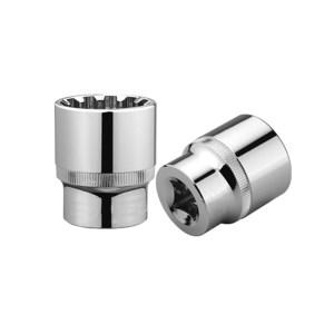 CHANGLU/长鹿 12.5mm系列镜面齿形公制套筒(Cr-V) 205412 12mm 1个