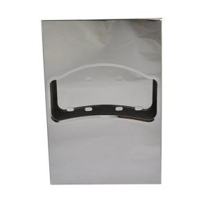 AOLQ/奥力奇 擦手纸配件-不锈钢砂光坐厕纸架 EQ-62-1/4 1个