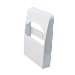 AOLQ/奥力奇 擦手纸配件-塑料坐厕纸架 AQ-506-1/4 1个