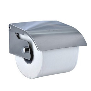 AOLQ/奥力奇 卷纸配件-不锈钢小卷纸架 EQ-204B 不锈钢 1个
