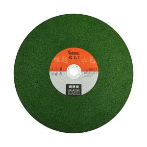 ROBTEC 诺克T41绿色单网不锈钢切割片 355×3×25.4G 标准型 1片