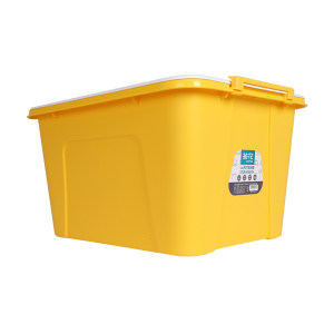 CHAHUA/茶花 特大装塑料收纳箱 28100 59.5×45×32cm 58L 颜色随机 1个