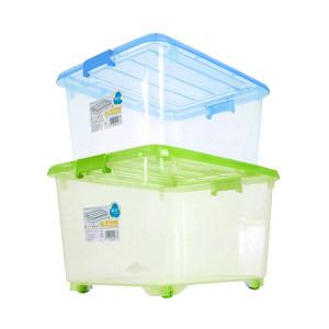 CHAHUA/茶花 35L收纳箱 2824 30×38×50cm 颜色随机 透明款 35L 1个