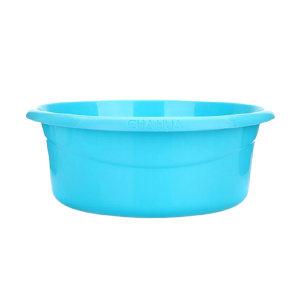 CHAHUA/茶花 塑料洗脸盆 03401K 直径42cm 颜色随机 1个