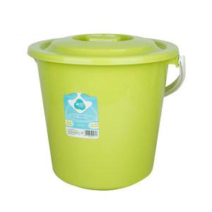 CHAHUA/茶花 塑料带盖提桶 0236-A 21L 随机色 直径36cm 1个