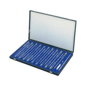 AS ONE/亚速旺 标准比重计(大型) 1-518-01 0.700~1.850 19支套装 1套