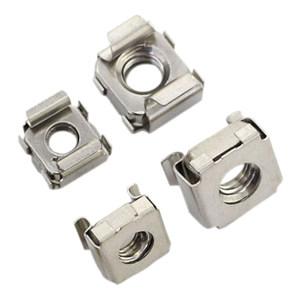 GE/通用 卡式螺母 304 全钢 本色 M10-14(1.8-3.2) 250个 允许误差3% 1包