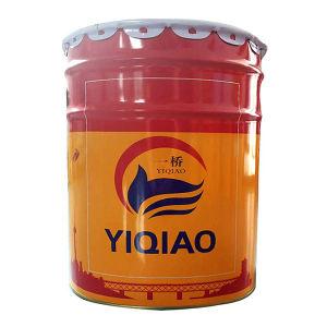 YIQIAO/一桥 200℃有机硅耐高温面漆 N-2 银色 18kg+2kg 1组