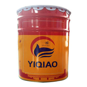 YIQIAO/一桥 300℃有机硅耐高温面漆 N-4 银色 18kg+2kg 1组