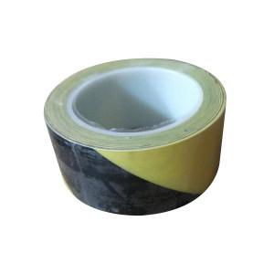 CLEANROOM/净雅 无尘警示划线胶带 WCHX-1 黄黑 48mm*33m 塑料卷芯(正负2mm误差) 1卷