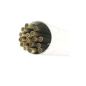 ZIYANG/紫阳 黄铜管电极 ¢1.6mm 多孔7孔长度500mm 1支
