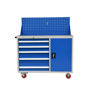 DT/迪团 多功能四抽工具车 GJG-002-蓝色 840*500*1000mm 蓝色 1台