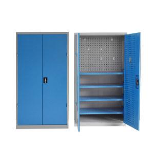 DT/迪团 双门带背网工具柜 GJG-005-蓝色 1000*500*1800mm 蓝色 1台