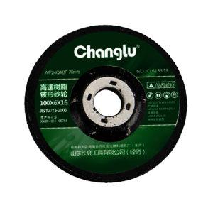 CHANGLU/长鹿 树脂高速角磨片 CL613333 100×6×16mm 25片 1盒