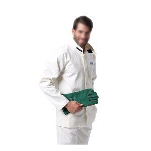 AP/友盟 白色阻燃服上衣 6840 XL 1件