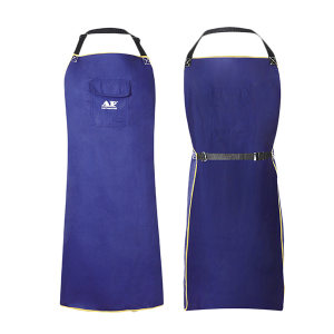 AP/友盟 蓝色防火布围裙 7036 L 91*58cm 1件