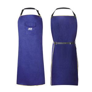 AP/友盟 蓝色防火布围裙 7036 XL 107*63cm 1件