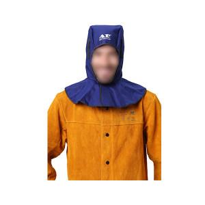 AP/友盟 蓝色阻燃布全护式焊帽 6680 39*50CM 1顶