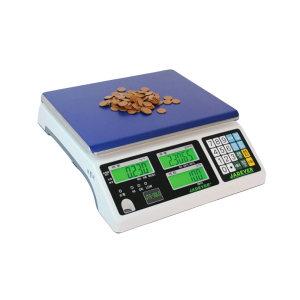 JADEVER 经典型计数桌秤 JTS-7.5LC 最大称量7.5kg 最小感量0.2g 秤盘尺寸294*228mm 1台