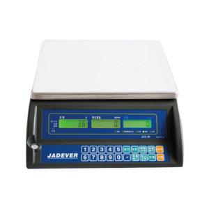 JADEVER 高精度计数桌秤 JTS-6BC 最大称量6kg 最小感量0.2g 秤盘尺寸334*245mm 1台