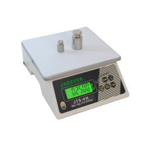 JADEVER 高精度计重桌秤 JTS-2H 最大称量2kg 最小感量0.1g 秤盘尺寸210*190mm 1台