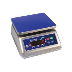 JADEVER 防潮计重桌秤 JWP-6K 最大称量6kg 最小感量1g 秤盘尺寸230×190mm 1台